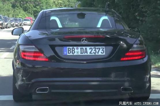 فيديو تجسسي لسيارة مرسيدس 2016